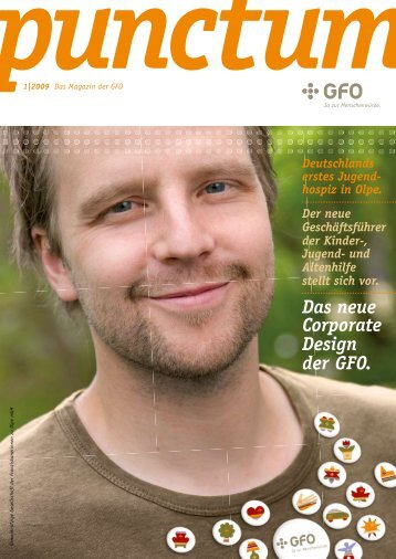 Das neue Corporate Design der GFO.