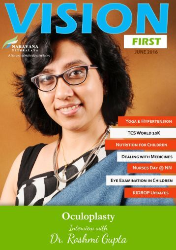 Vision First Online Magazine June 2016