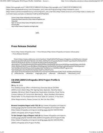 247-Infrapedia 2016 Project Profile _ InfraPedia - Access to Data at Ease
