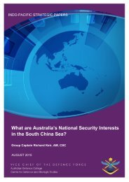 What are Australia's National Security Interests in the South China Sea?
