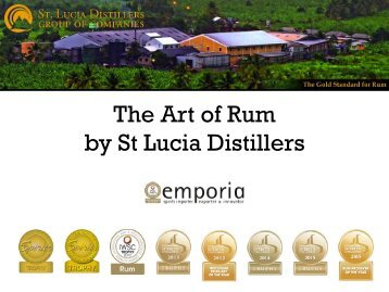 by St Lucia Distillers