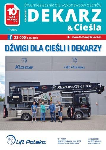 Fachowy Dekarz & Cieśla 2016/4
