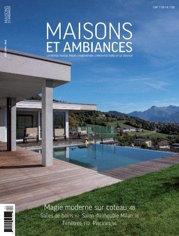Maisons et Ambiances: La marque exclusive SANEO design du Groupe Bringhen