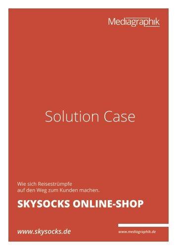 SKYSOCKS Reisestrümpfe Online-Shop - Mediagraphik