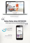 SKYSOCKS Reisestrümpfe Online-Shop - Mediagraphik - Seite 2