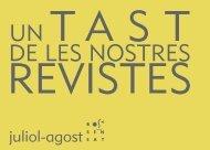 TAST REVISTES DE ROSA SENSAT DE JULIOL/AGOST 2016
