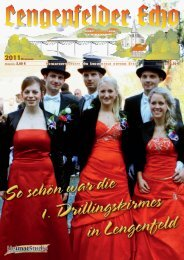 Lengenfelder Echo, Ausgabe Dezember 2011 - Eichsfeld-Archiv des ...