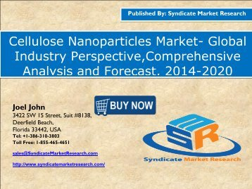 Cellulose Nanoparticles Market