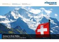 Infobroschüre Schweiz