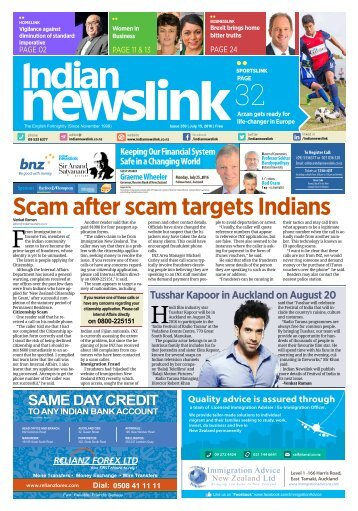 Indian Newslink July 15 Digital Edition