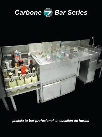 Catálogo de Muebles de Acero Inoxidable para Bar