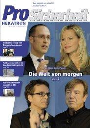 Die Welt von morgen - Schwarz & Grantz GmbH & Co. KG