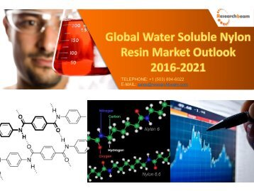 Global Water Soluble Nylon Resin Market Outlook 2016-2021