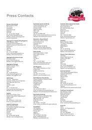 Press contact list