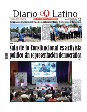 Edición 13 de Julio de 2016