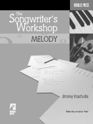 The Songwriter's Workshop: Melody