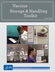 Vaccine Storage & Handling Toolkit