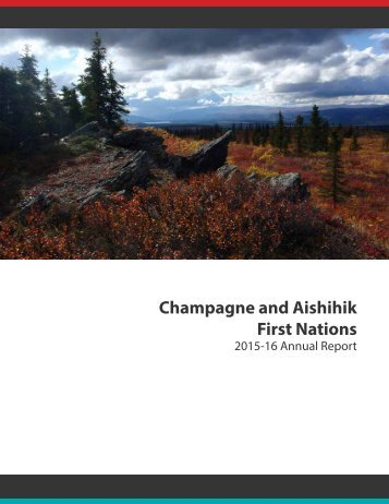 Champagne and Aishihik First Nations