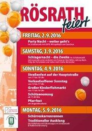 Straßenfest in Rösrath