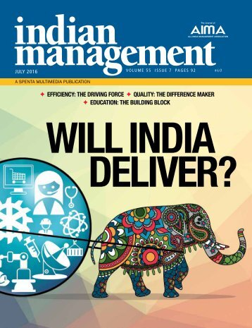 WILL INDIA DELIVER?