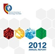 CUT Annual Report 2012