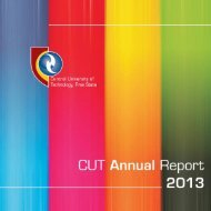 CUT Annual Report 2013