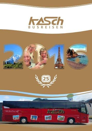 KASCH Busreisen 2016