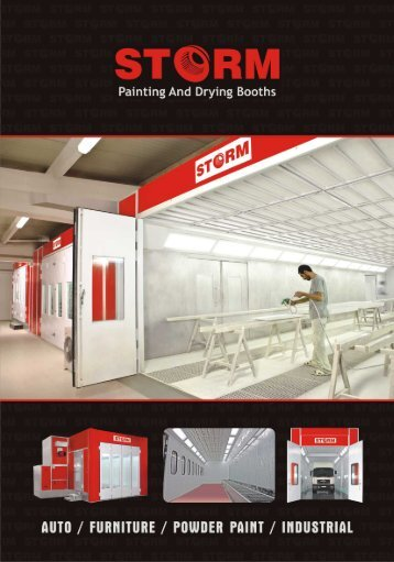 STORM PAINTING AND DRYING BOOTHS CATALOG