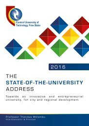 State-of-the-University Address 2016