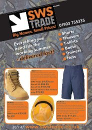 SWS Trade Special Offers July 2016