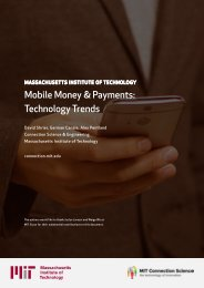 Mobile Money & Payments Technology Trends