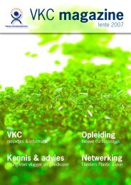 VKC magazine - Vlaams Kunststofcentrum