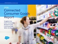 Connected Consumer Goods Report
