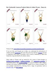 Fashionable Pendant Designs for Indian Women – Damor.in