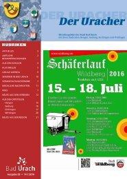 Der Uracher KW 28-2016