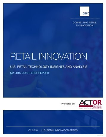 RETAIL INNOVATION