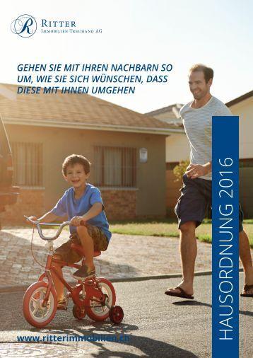 Hausordnung Ritter Immobilien Treuhand AG