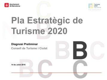 Pla Estratègic de Turisme 2020