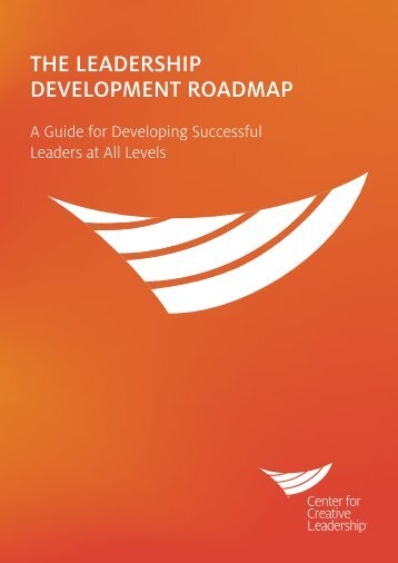 THE LEADERSHIP DEVELOPMENT ROADMAP