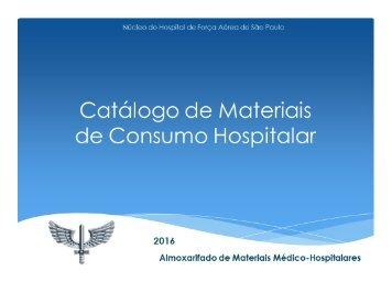 2016 Catálogo de Materiais NuHFASP