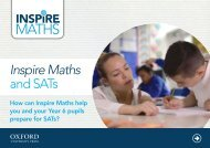 Inspire Maths and SATs
