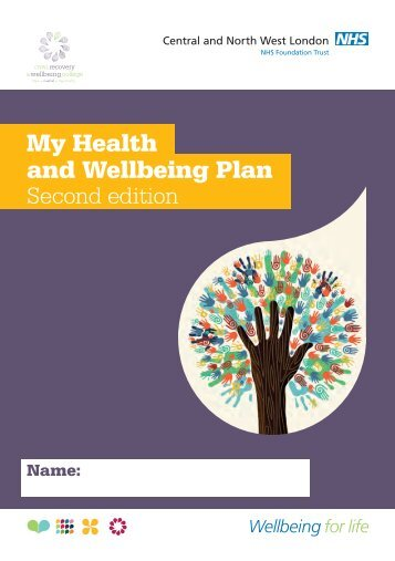 My Health and Wellbeing Plan