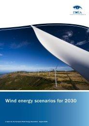 Wind energy scenarios for 2030