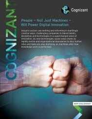 People — Not Just Machines — Will Power Digital Innovation