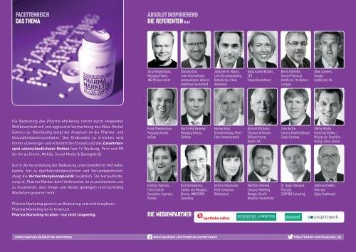 Konferenz PHARMA MARKETING 2013