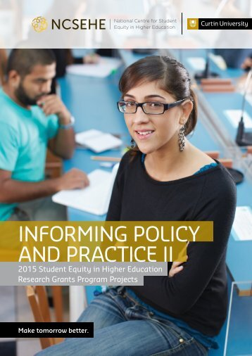 INFORMING POLICY AND PRACTICE II