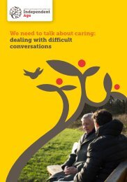 We need to talk about caring dealing with difficult conversations