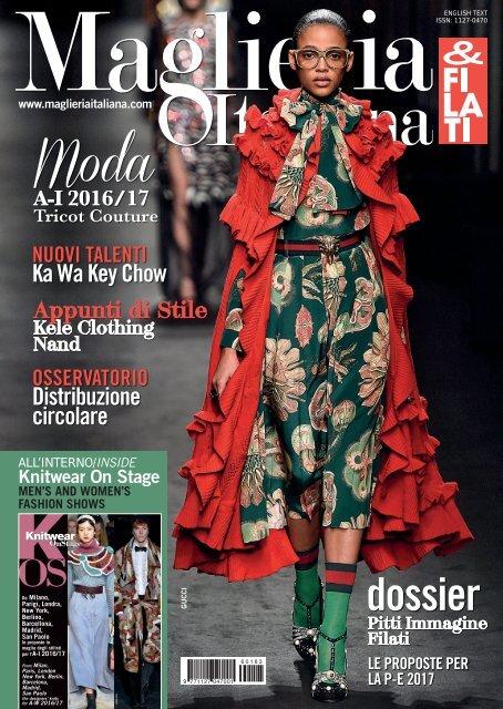 Maglieria Italiana n° 183 1° semestre 2016