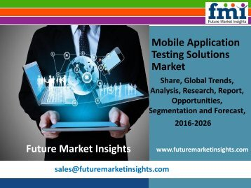 Mobile Application Testing Solutions Market