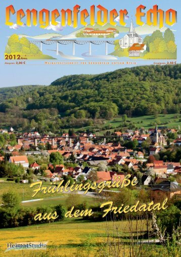 Lengenfelder Echo, Ausgabe April 2012 - Eichsfeld-Archiv des ...